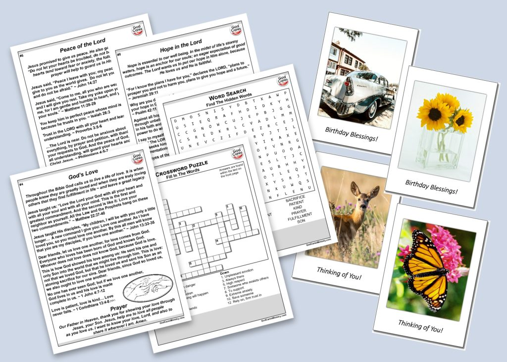 Handouts Cards Blog and Highlight Photo