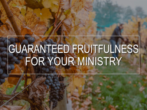 Thumbnail for Guaranteed Fruitfulness For Your Ministry Video