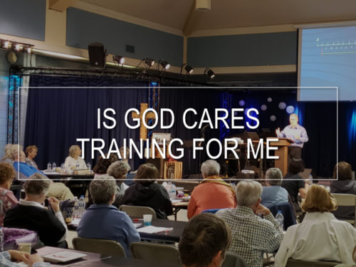 Thumbnail for Is God Cares Training For Me Video