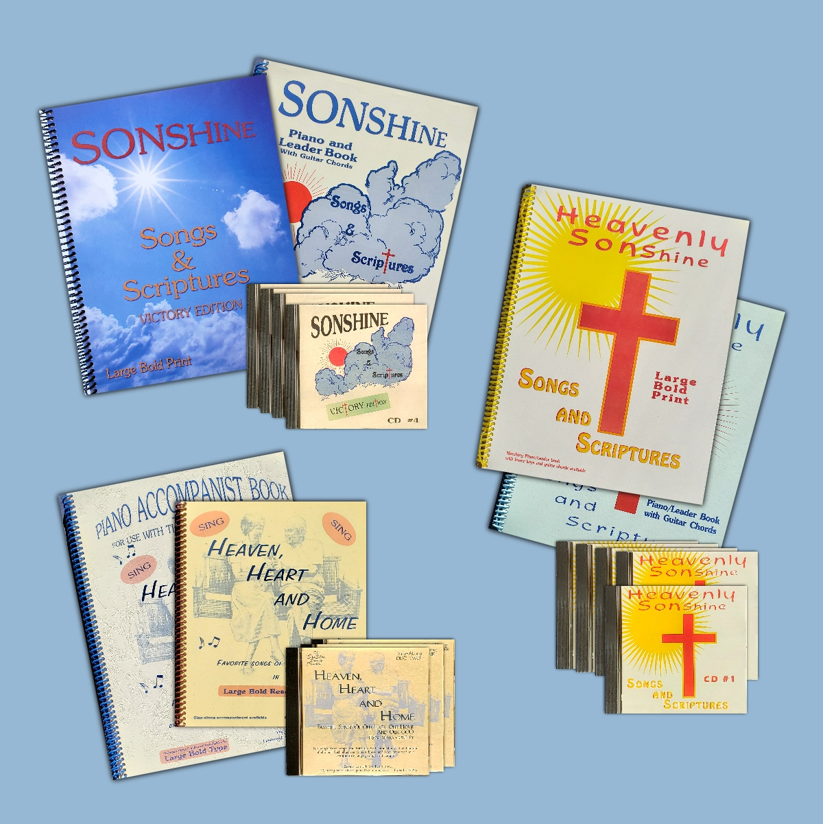 SonShine SongBooks and CDs