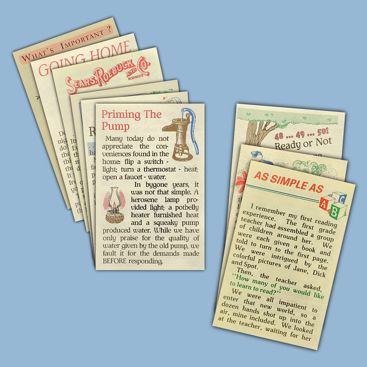 SonShine Giant Print Tracts
